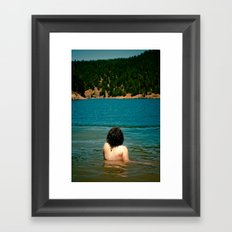Le Lady Lake II Framed Art Print