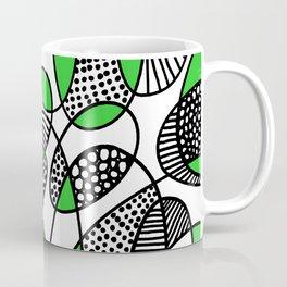 Abstract 211216 - Green Coffee Mug