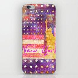 New York USA Statue of Liberty iPhone Skin