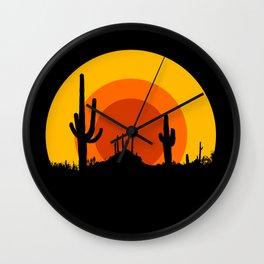mucho calor Wall Clock