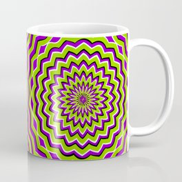 Optical Illusion moving pattern Coffee Mug