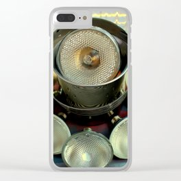 Making Light Of The Subject Clear iPhone Case