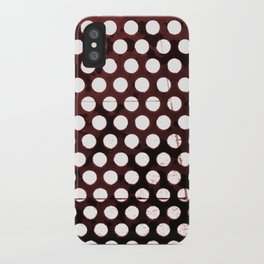 Metal Dots iPhone Case