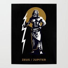 Zeus / Jupiter Poster