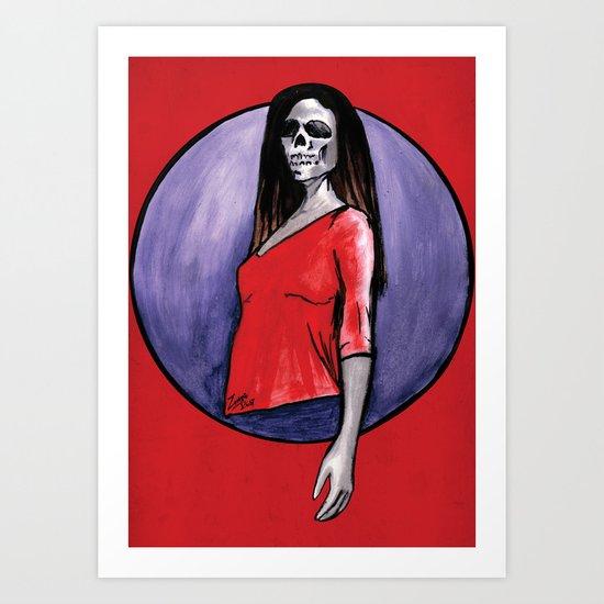 Strike a Pose Art Print