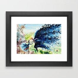 """In the air"" Framed Art Print"