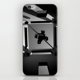 Shadows and Squares iPhone Skin