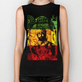 Haile Selassie Lion of Judah Biker Tank