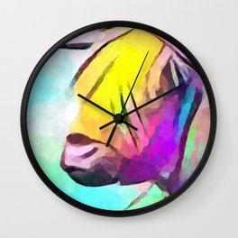 Highland Cow 2 Wall Clock