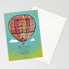 Life Expands quote Stationery Cards