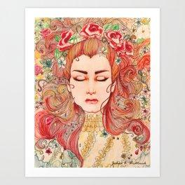 Sleeping Spirit Art Print
