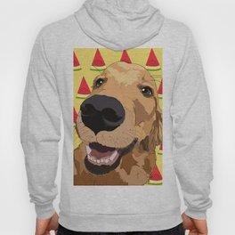 Golden Retriever Dog-Watermelon Hoody