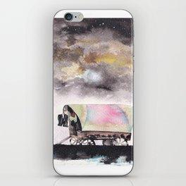 Rising stars above iPhone Skin