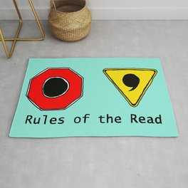 Funny & Unique Gifts for Writers: Rules of the Read Rug