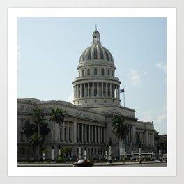 Capitolio, Havana Art Print