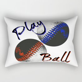 Play Ball Rectangular Pillow