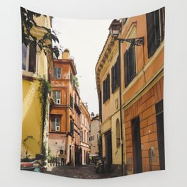 Streets of Italy Wall Tapestry