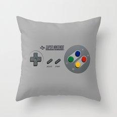 Classic Nintendo Controller Throw Pillow