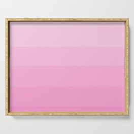 Soft Pastel Pink Hues - Color Therapy Serving Tray