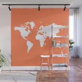 Coral Elegant World Wall Mural