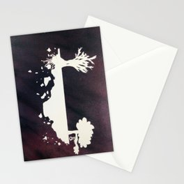 Space Trees. Stationery Cards