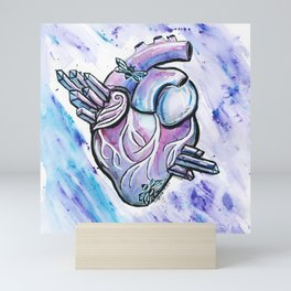 Ice Queen Heart Mini Art Print