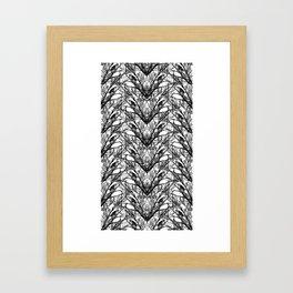 Birds in the Arrochar tree's Framed Art Print