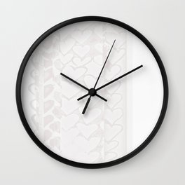 Heart 18.25 Wall Clock