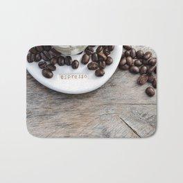 Addiction - Fine Art Coffee Photo Bath Mat