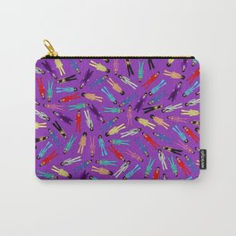 Purple Pattern 2 Carry-All Pouch