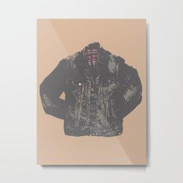 Jean Jacket Metal Print