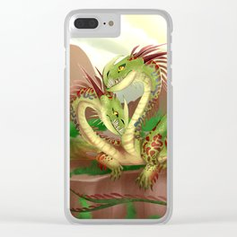 Zippleback httyd barf and belch Clear iPhone Case