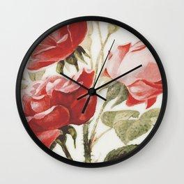 Vintage Botanical No. 4 Wall Clock