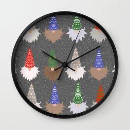 GnomesGrey Wall Clock