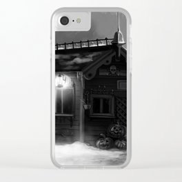 Halloween 31 Clear iPhone Case