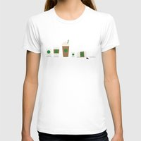 starbucks T-shirts featuring Starbucks by Malin Erixon