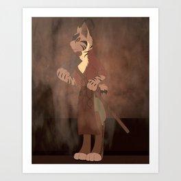 Pixie Bob Art Print
