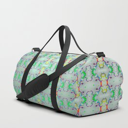Softly colorful classic pattern ... Duffle Bag