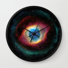 Helix (Eye of God) Nebula Wall Clock