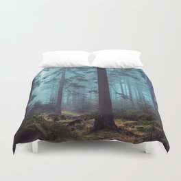 In the Pines Duvet Cover