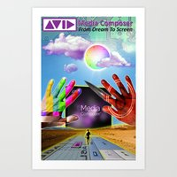 Avid Media Composer Poster Art Print