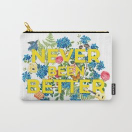 """Never Been Better"" With Artwork - 100 Days of Sunlight Carry-All Pouch"