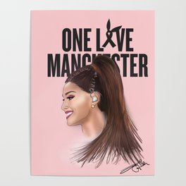 One Love Manchester (A. Grande) Poster