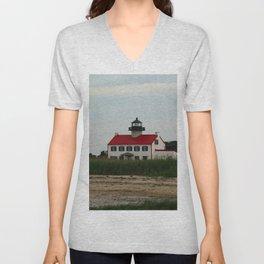 East Point Lighthouse Unisex V-Neck