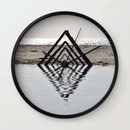 Pure Reflection Wall Clock