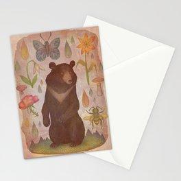 Asian Black Bear Stationery Cards