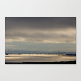 Severn Bridge Sundown Canvas Print