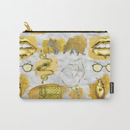 SHIMMER & GOLD Carry-All Pouch