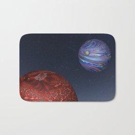Earth From Mars Bath Mat