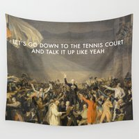 lorde Wall Tapestries featuring Tennis Court Oath by Lorde Art History